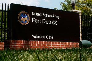 Fort Detrick, Maryland, where research was stopped when breaches occurred (Politico)