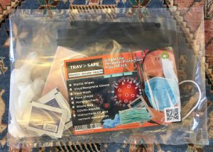 The TravSafe PPE kit - at least someone is thinking