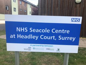 The NHS Seacole Centre dedicated to rehab after Covid-19